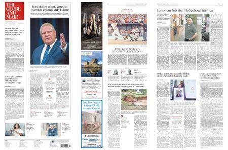 The Globe and Mail – September 11, 2018