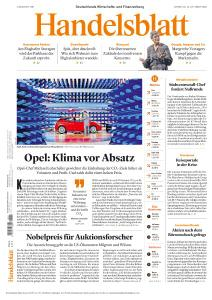 Handelsblatt - 13 Oktober 2020