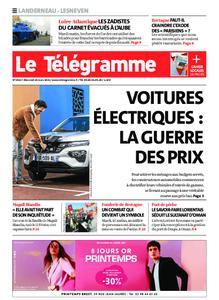 Le Télégramme Landerneau - Lesneven – 24 mars 2021