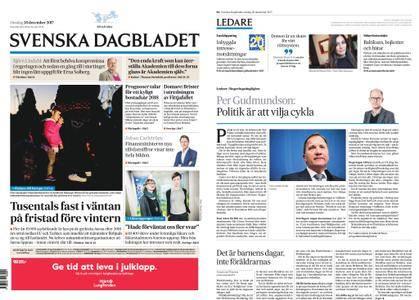 Svenska Dagbladet – 20 december 2017