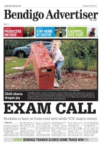 Bendigo Advertiser - April 8, 2020