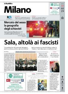 la Repubblica Milano - 10 Marzo 2019