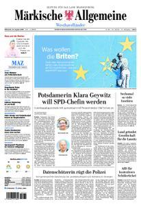 Märkische Allgemeine Westhavelländer - 21. August 2019