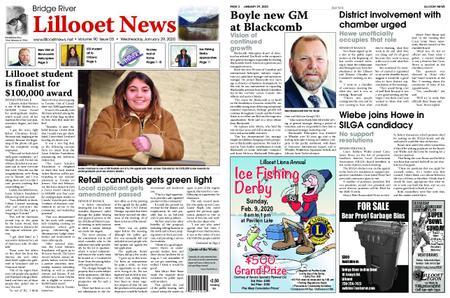 Bridge River Lillooet News – January 29, 2020