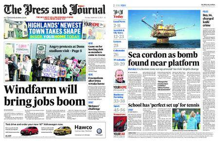 The Press and Journal Moray – September 12, 2017