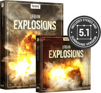 Boom Library Urban Explosions Bundle WAV