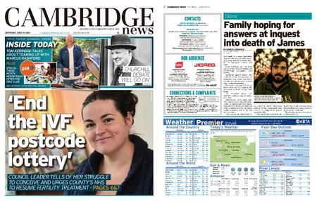 Cambridge News – June 19, 2021