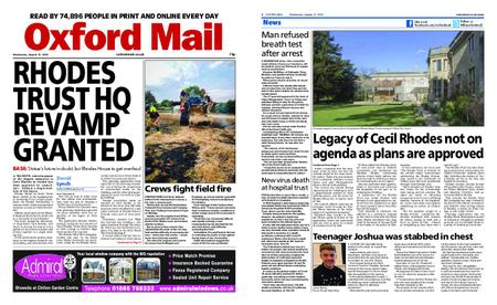 Oxford Mail – August 12, 2020
