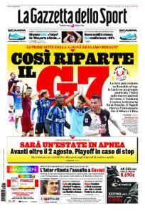 La Gazzetta dello Sport Roma – 21 maggio 2020