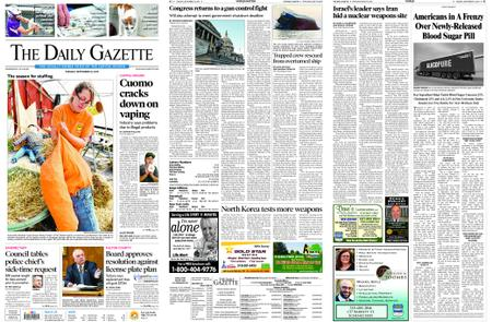 The Daily Gazette – September 10, 2019