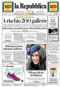 la Repubblica - 10 Gennaio 2020