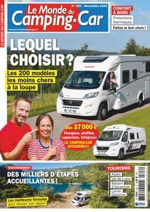 Le Monde du Camping-Car - novembre 2020