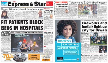 Express and Star City Edition – October 21, 2019
