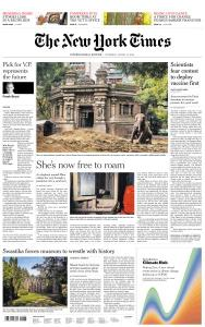 International New York Times - 13 August 2020