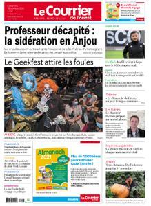 Le Courrier de l'Ouest Angers – 18 octobre 2020