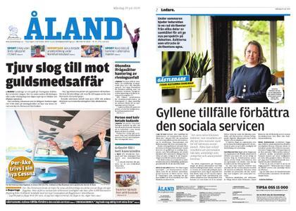 Ålandstidningen – 29 juli 2019