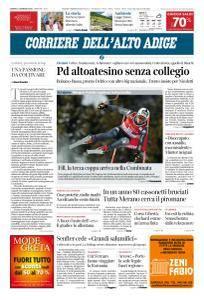 Corriere dell'Alto Adige - 13 Gennaio 2018
