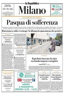 la Repubblica Milano - 12 Aprile 2020