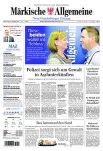 Neue Oranienburger Zeitung - 12. Oktober 2017
