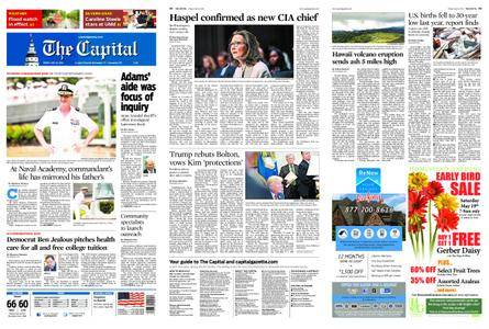 The Capital – May 18, 2018