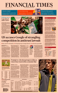Financial Times Europe – 21 October 2020