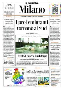 la Repubblica Milano – 04 luglio 2019