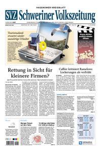 Schweriner Volkszeitung Hagenower Kreisblatt - 25. Mai 2020