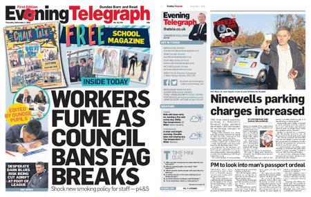Evening Telegraph First Edition – November 01, 2018