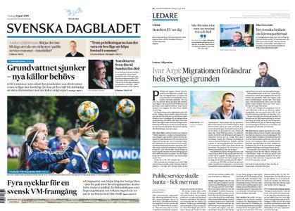 Svenska Dagbladet – 11 juni 2019