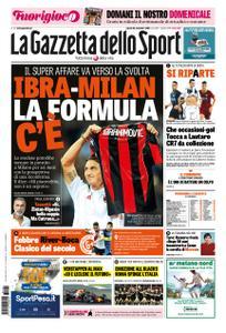 La Gazzetta dello Sport Roma – 24 novembre 2018