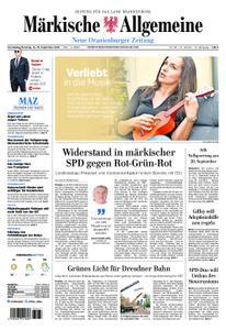 Neue Oranienburger Zeitung - 14. September 2019