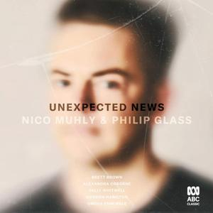 Omega Ensemble - Unexpected News: Nico Muhly & Philip Glass (2019)