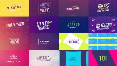 50 Creative Titles - Project for After Effects (VideoHive)
