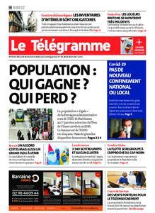 Le Télégramme Brest Abers Iroise – 30 décembre 2020