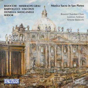 Rossini Chamber Choir - Sacred Music in Saint Peter's Basilica (Live) (2019)