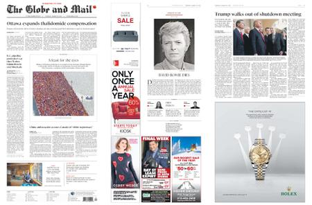 The Globe and Mail – January 10, 2019