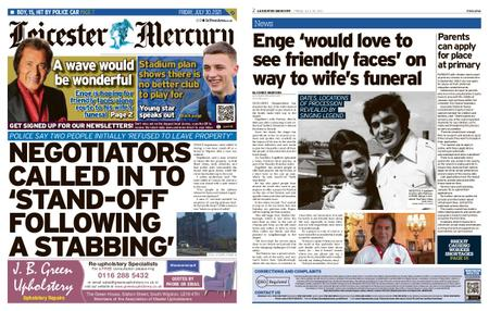 Leicester Mercury – July 30, 2021