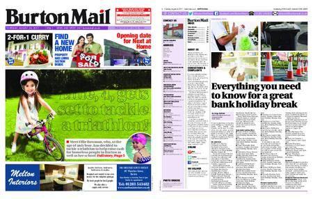 Burton Mail – August 24, 2017