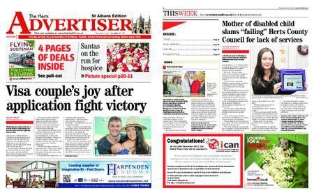 The Herts Advertiser – December 07, 2017