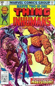 Marvel Two-In-One v1 072 The Inhumans