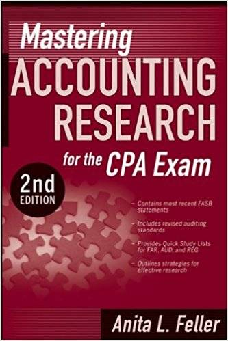 Mastering Accounting Research for the CPA Exam, 2nd edition (repost)