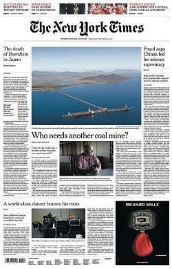 International New York Times - October 16, 2017