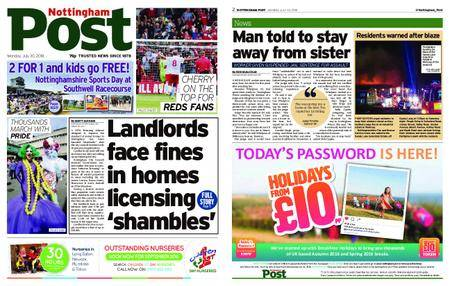 Nottingham Post – July 30, 2018