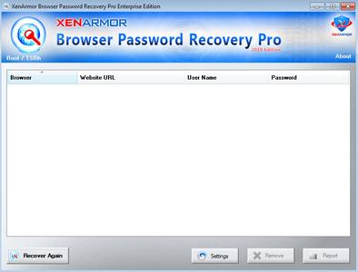Browser Password Recovery Pro Enterprise Edition 3.5.0.1