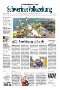 Schweriner Volkszeitung Hagenower Kreisblatt - 03. Mai 2018