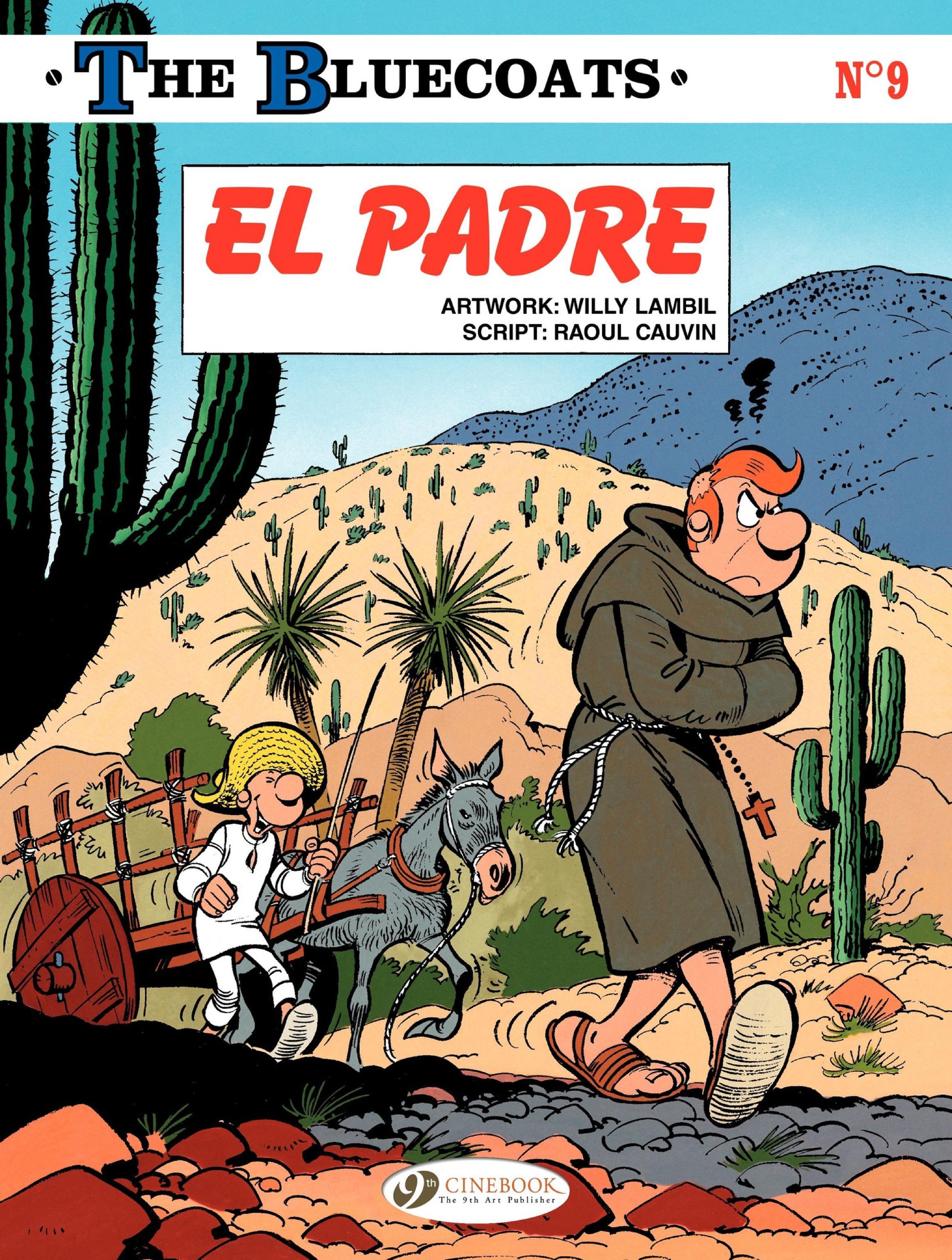 Cinebook - The Bluecoats Vol 09 El Padre 2016 Hybrid Comic eBook