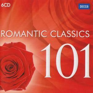 Various Artists - 101 Romantic Classics (2016) {6CD Box Set Decca 478 4006 rel 2012}