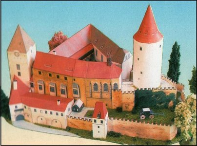 Detailed Architectural Paper Model (E6)