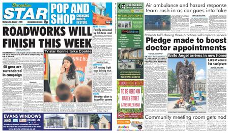 Shropshire Star Shrewsbury Edition – August 07, 2019