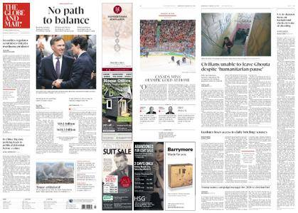 The Globe and Mail – February 28, 2018